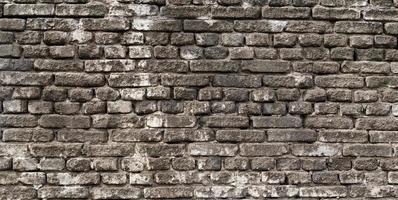 Old brick wall close up photo