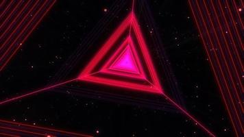 triangle rotation vj fond video