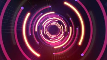 abstract neonlicht video
