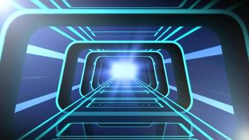 Tron Tunnel Vj Loop Background video