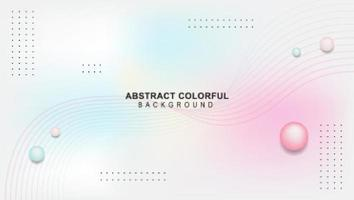 Abstract geometric background shapes vector