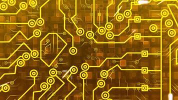 sfondo del circuito digitale video