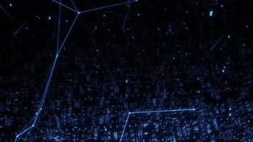 Digital Quantum Technology Digital Computing Concept video