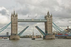 Tower Bridge in the City of London This iconic bridge opened in 1894 and is used by some 40000 people a day photo