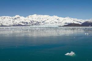 Hubbard Glacier in Yakutat Bay Alaska photo