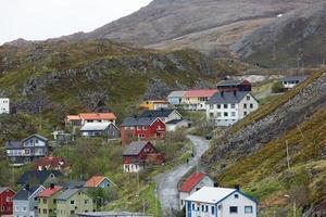 cultura y vida en la ciudad más al norte de honningswag en noruega foto