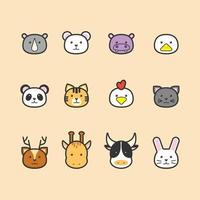 Animal Icon Collection vector