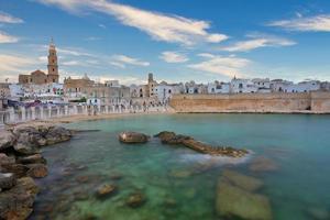 Southern Italy sea in summer Italian resort photo
