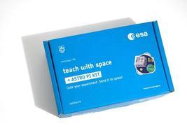Galati, Romania 2020- The Astro Pi Kit box prepared for the Astro Pi Mission Space Lab contest photo