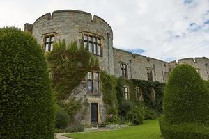 Chirk castle and its garden Wales England photo