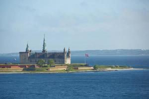 Castillo de Kronborg en Helsingor, Dinamarca foto