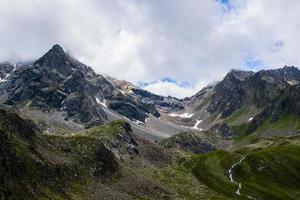 Alpine peaks of south Tyrol photo