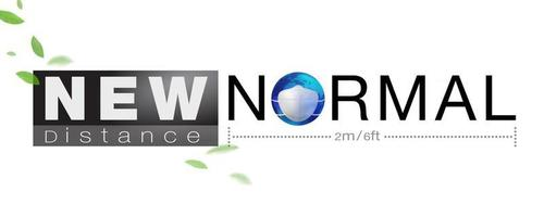 New normal concept vector