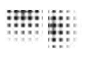 halftone dots rectangular vector file