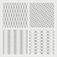 dots pattern set vector