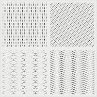 Stars random seamless pattern vector