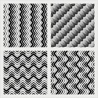 stripes pattern set vector