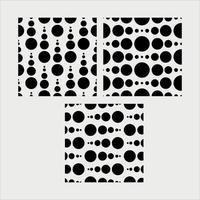 Black Dots pattern vector