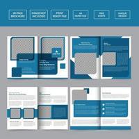 Modern Real Estate Brochure Template vector