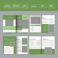 Real Estate Brochure Template vector