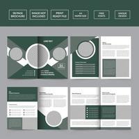 Real Estate Brochure Templates vector