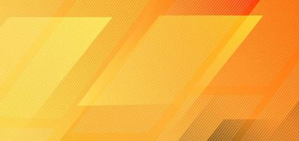 Abstract diagonal stripes lines geometric on yellow background vector