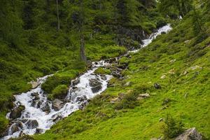 Streams in the Alps of South Tyrol photo