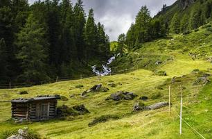 Landscape in the Alps of South Tyrol photo