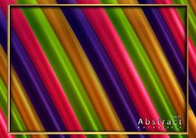 papercut abstract colorful background with 3d texture vector