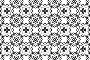 Seamless Abstract Floral Pattern in Oriental Style vector