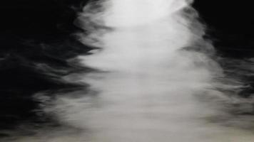 tornado animation på svart bakgrund video