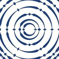 geometric pattern abstract blue colors vector