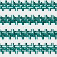 dark green geometric pattern template vector