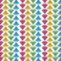 colorful diamond geometric and seamless pattern abstract vector design