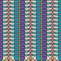 abstract pattern colorful ramadan pattern vector
