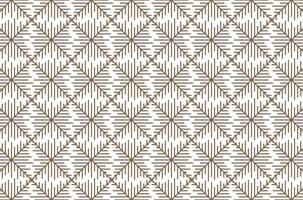 Seamless geometric line pattern vector