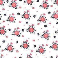 Spring blooming seasons seamless pattern vector