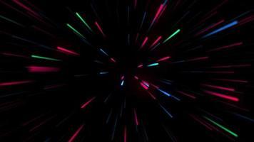 fond de zoom néon video