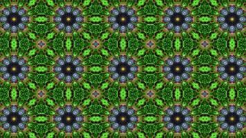 bellissimi frutti colorati caleidoscopio effetto di sfondo video