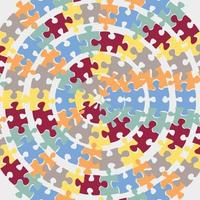 autism awareness day pattern vector