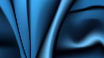 Blue fabric cloth texture as a background vector