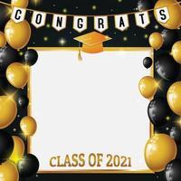 Congrats Class Background vector
