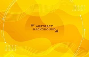 fondo degradado moderno enérgico amarillo vector