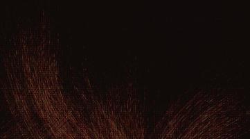 Blazing on Black background vector