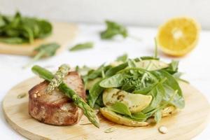 composición de alimentos de dieta flexitariana fácil foto