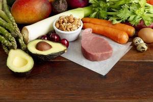Easy flexitarian diet food arrangement photo