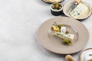 The Delicious fancy food arrangement photo