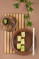 Beautiful assortment of delicious food photo