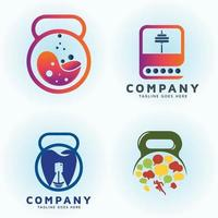 Nutrition lab Dental icon and Education fitness vector design