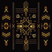 Tribal Vintage Aztec Background vector
